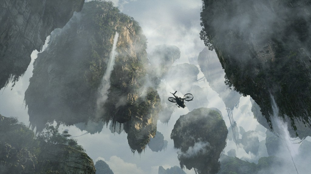 Image du film Avatar de James Cameron (2009).