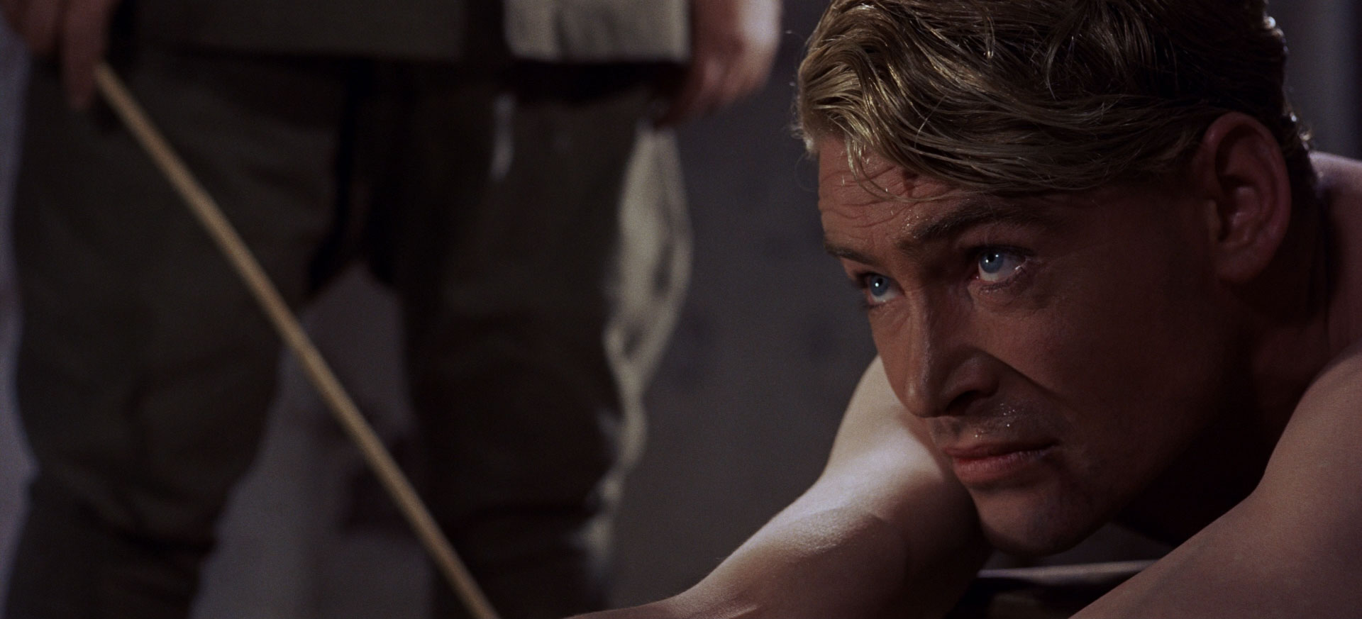 Peter O'Toole dans Lawrence d'Arabie de David Lean (1962).
